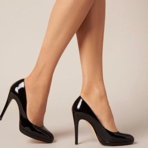 b2d97eff49f2 NWOB L.K Bennett London Sledge Patent Leather Heel